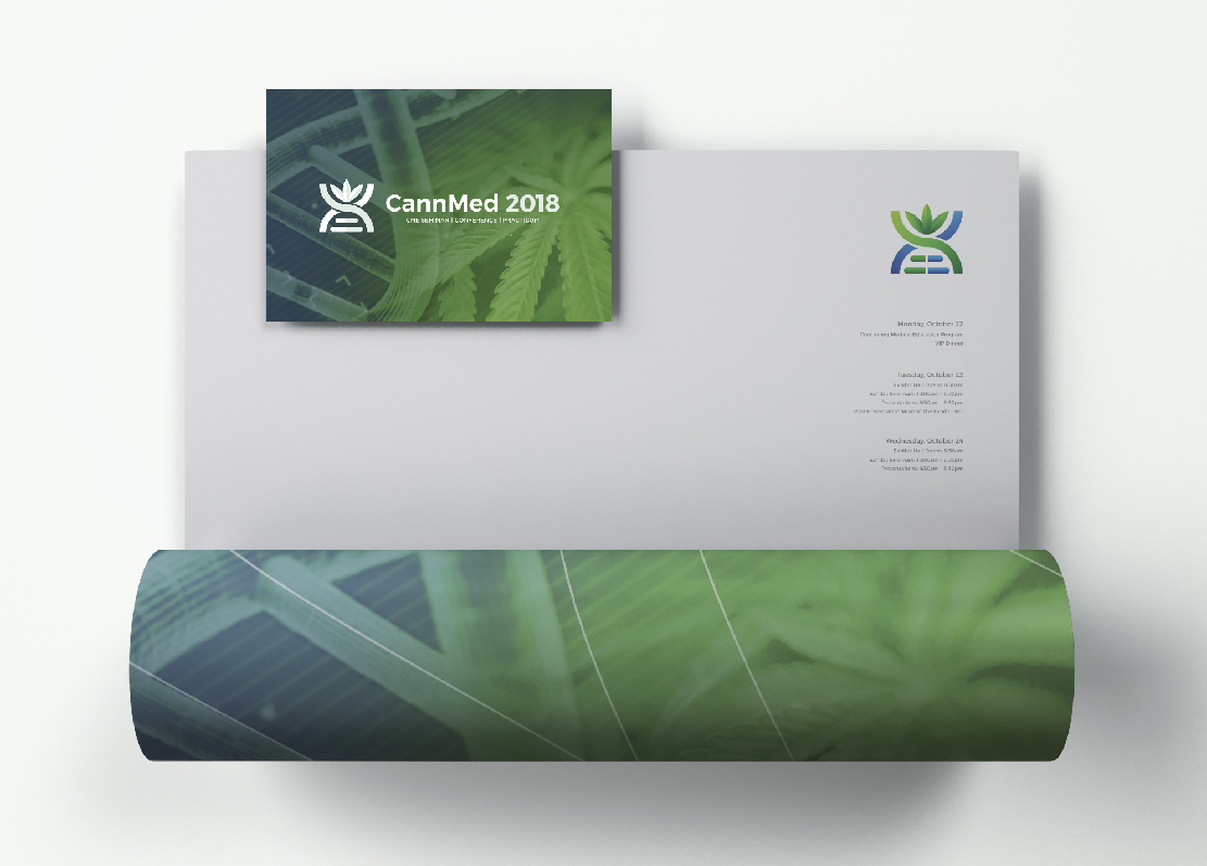 Cannabis Branding CannMed Letterhead and Logo